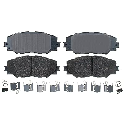 ACDelco 17D1210CH Professional Ceramic Front Disc Brake Pad Set: Automotive