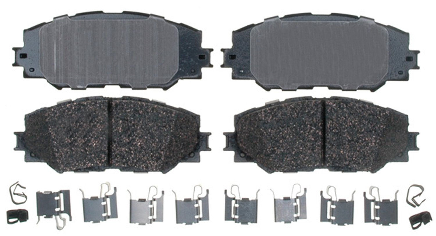ACDelco 17D1210CH Professional Durastop Ceramic Front Disc Brake Pad Set