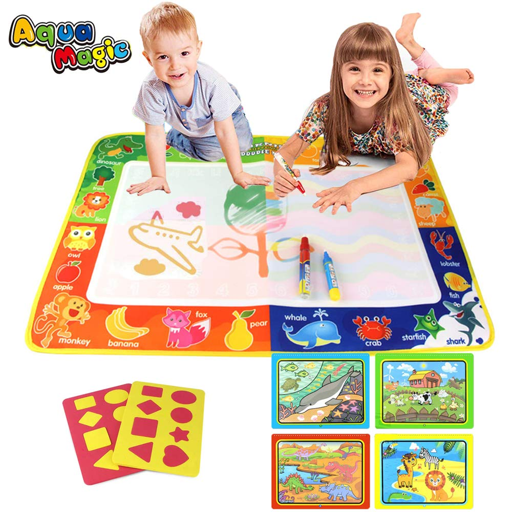 PUZ Toy Geschenke für 2-4 Jährige Mädchen Aqua Zauber Doodle Matte ...