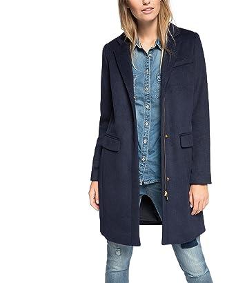 ESPRIT Damen Collection Mantel Mix Woll pqSzUMV