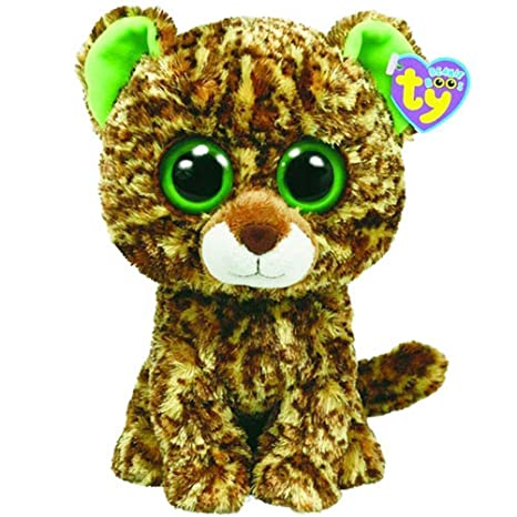76dea347be6 Amazon.com  TY Beanie Boos - Leopard Speckles (Non-Glitter Eyes ...