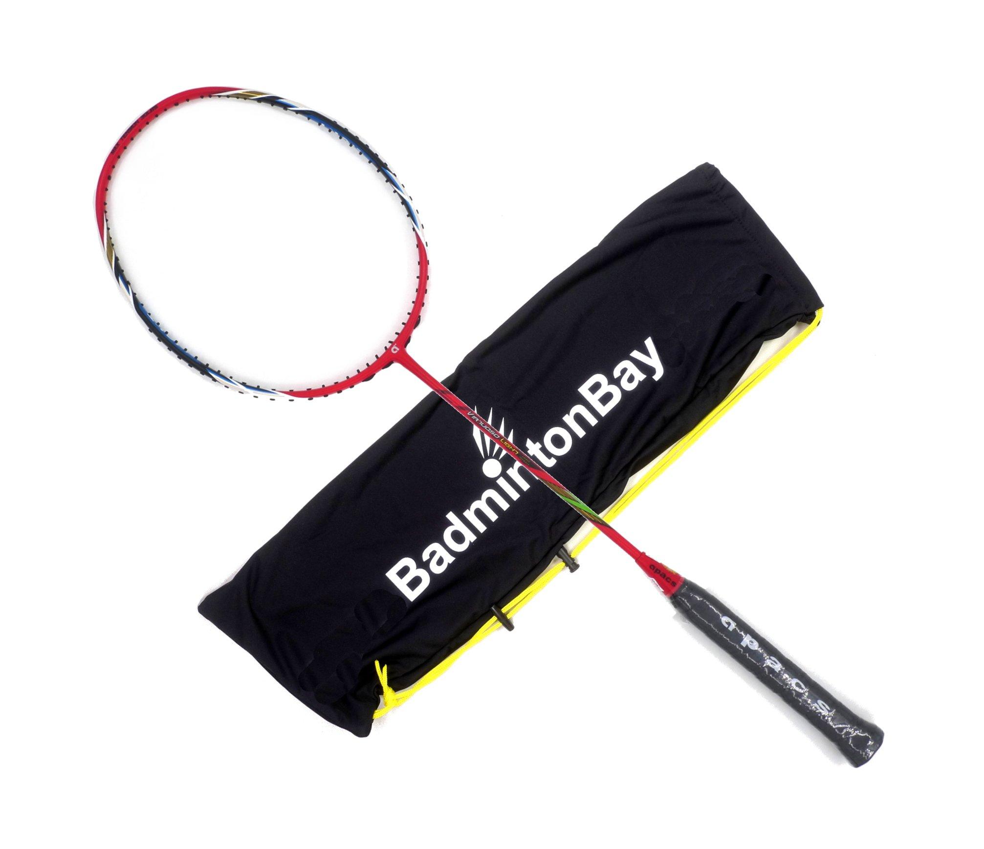 Apacs Virtuoso Light Red Badminton Racket (6U)