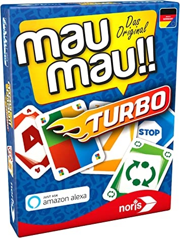Noris MAU MAU - Juego de Cartas (Turbo): Amazon.es: Juguetes y juegos