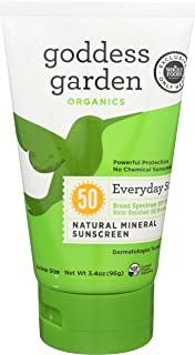 product image for Goddess Garden, Sunscreen Natural Mineral Everyday SPF50, 3.4 Ounce