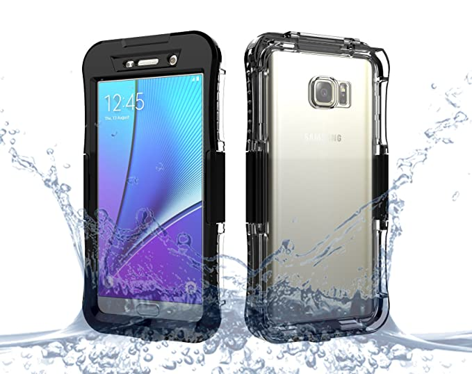 online store 55d4a 8e090 Amazon.com: Samsung Galaxy Note 5 Waterproof Case, FugouSell Full ...