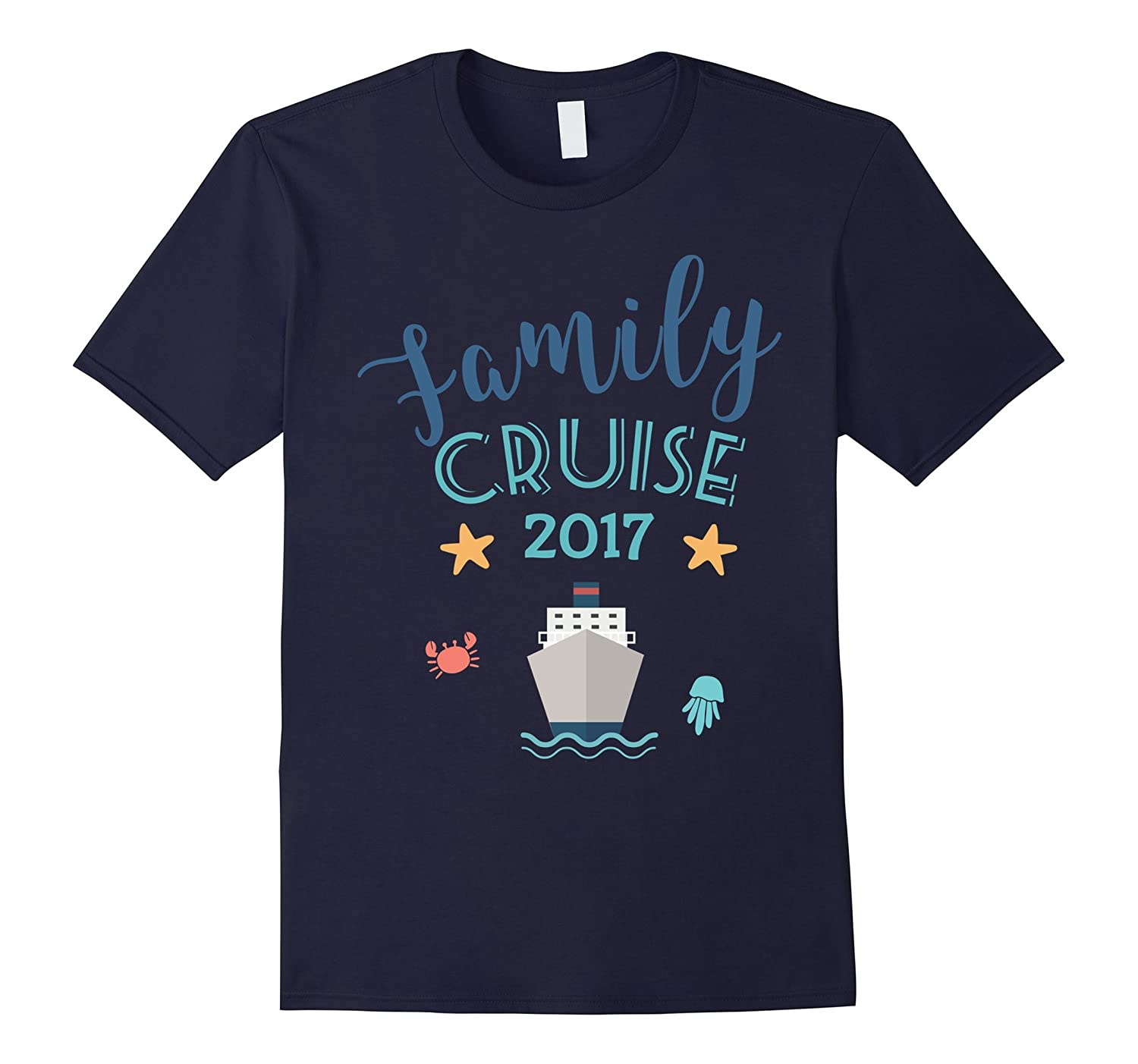 Family Cruise 2017 Shirt - Group Vacation Summer Tee-TD