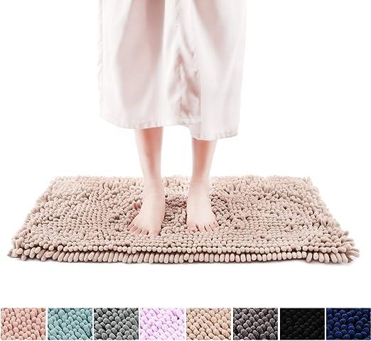 Amazon Com Freshmint Chenille Bath Rugs 1 65 Piles Extra Soft