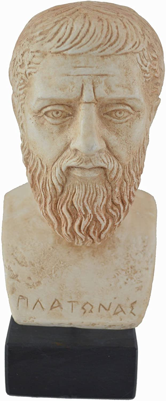Estia Creations Platon Sculpture Buste Statue Grecque Antique Philosophe