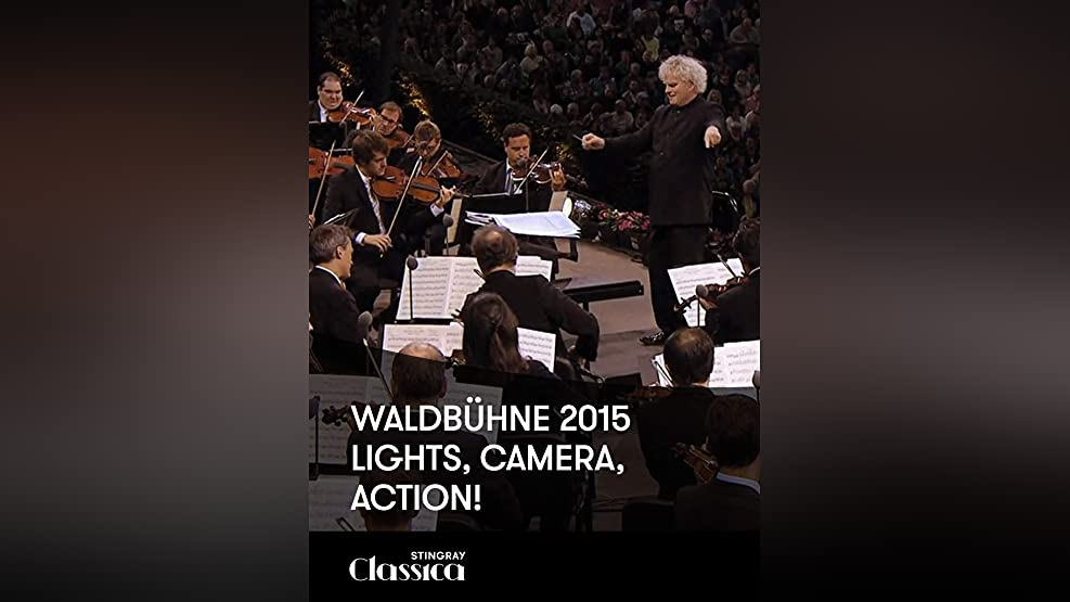 Waldbühne 2015 - Lights, camera, action!