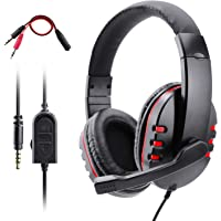 Dhaose Auriculares Gaming para PS4 Xbox One, 3.5mm