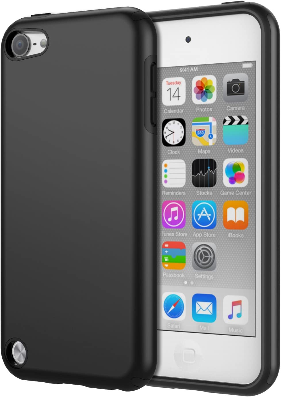 MoKo Case Fit iPod Touch 2019 Released iPod Touch 7 / iPod Touch 6 / iPod Touch 5
