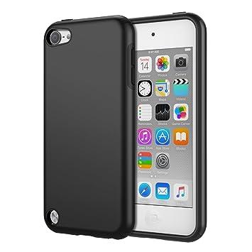 MoKo iPod Touch 6 Hülle - [Anti Fallen Serie] Silikon + Hart Polycarbonat Protector Phone Case Handy Schutzhülle Schale Bumpe