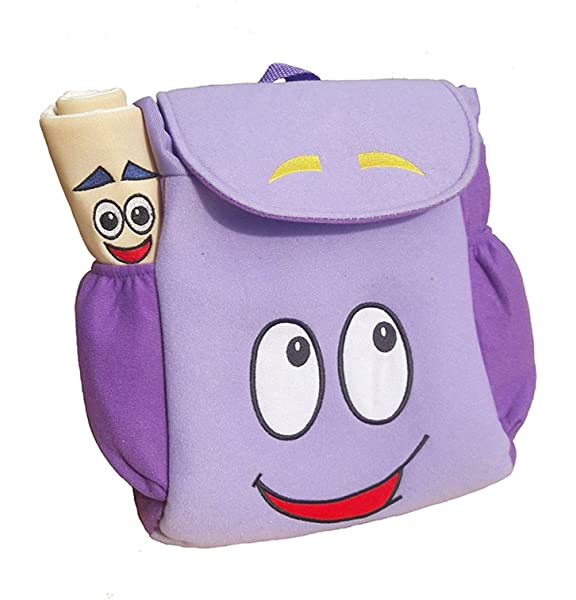 Dora Backpack Plush Girls Preschool The Explorer Rescue Bags Double Shoulder Bag