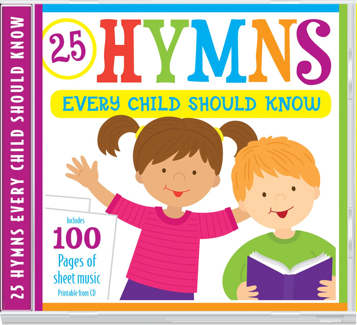 picture relating to Printable Hymns Sheet Music titled 25 Hymns Just about every Kid Ought to Comprehend: 25 Hymns Sung via Small children with