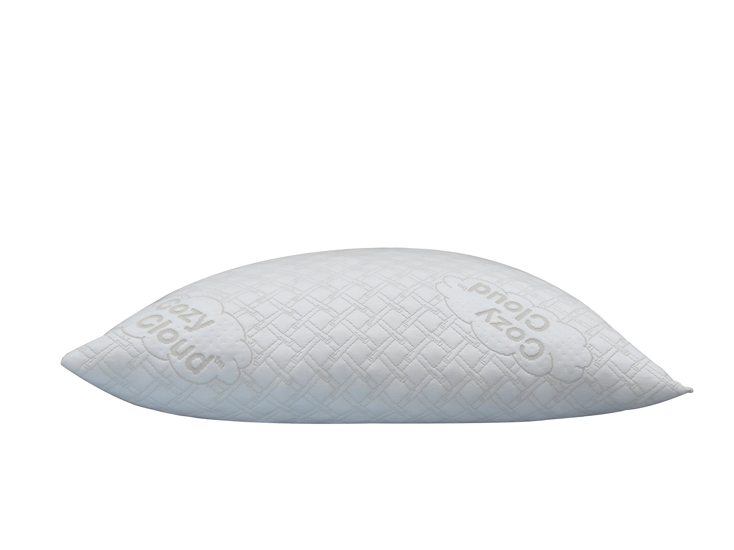 CozyCloud Bamboo Shredded Memory Foam Pillow, Queen