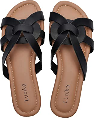 Flat Open Toe Casual Summer Shoes