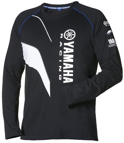 Yamaha Paddock Camiseta de color negro azul XL
