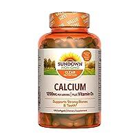 Vitamin D3 Plus Calcium by Sundown, Immnue Support & Bone Health, 1200mg Calcium...