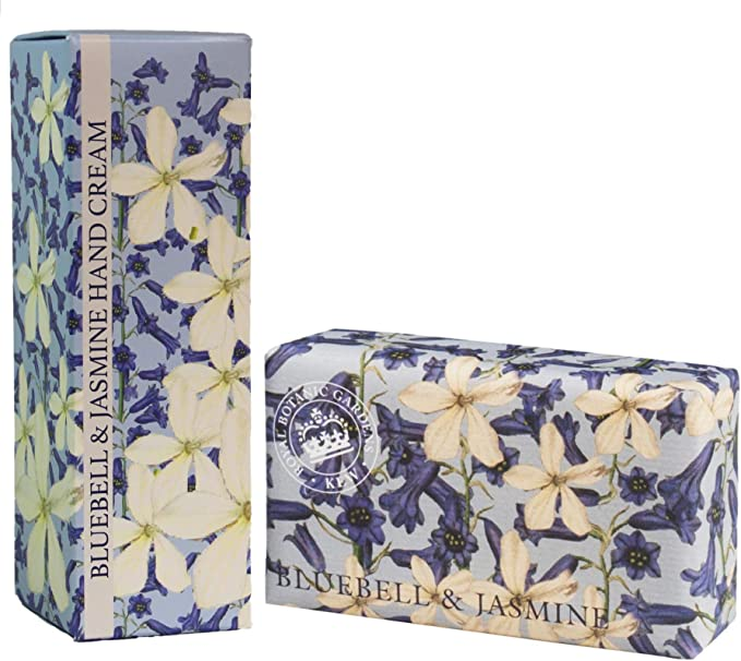 Bluebell & Jasmine Hand Cream By Kew Gardens