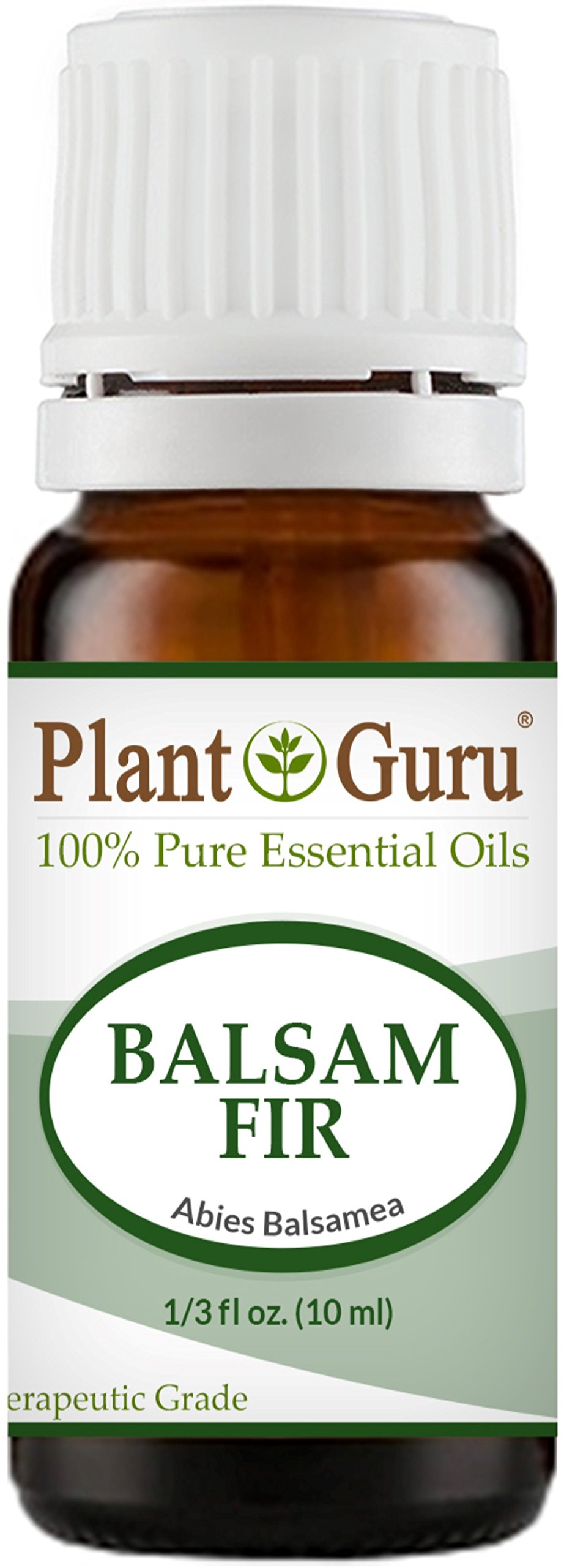 Balsam Fir Needle Essential Oil 10 ml 100% Pure Undiluted Therapeutic Grade