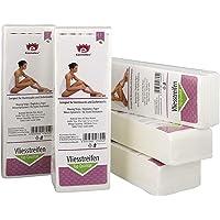 Kosmetex Vliesstreifen 500 Stück für Wachs, Vlies-Streifen 20cm für die Haarentfernung mit Warmwachs und Zuckerpaste, 500 Stück