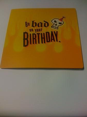 Hallmark Bad To The Bone Musical Birthday Card Amazon
