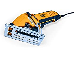 Official ROTORAZER Compact Circular Saw Set DIY Projects -Cut Drywall, Tile, Grout, Metal, Pipes, PVC, Plastic, Copper, Carpe