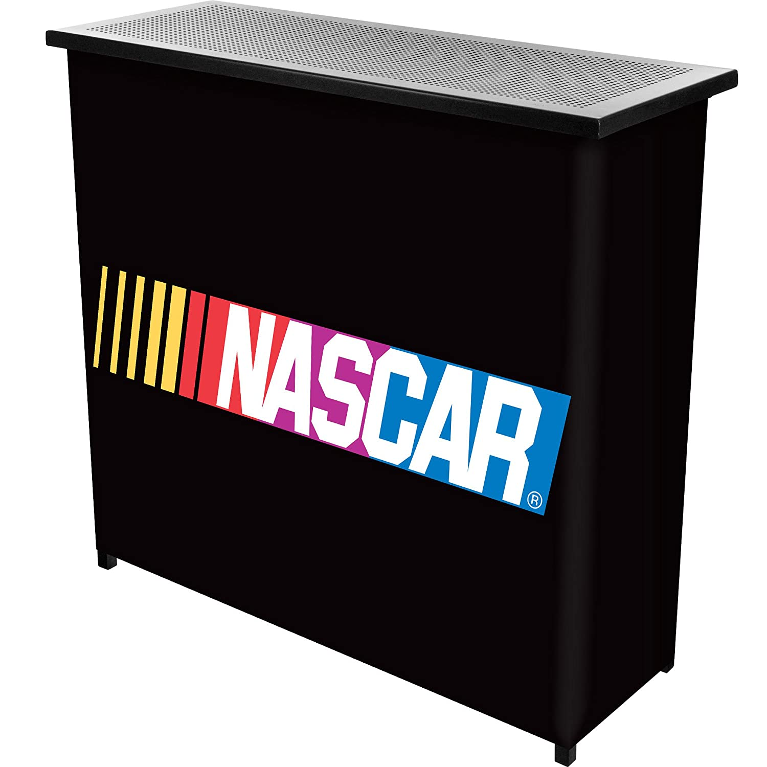 NASCAR Two Shelf Portable Bar with Case Trademark Global NASCAR8000