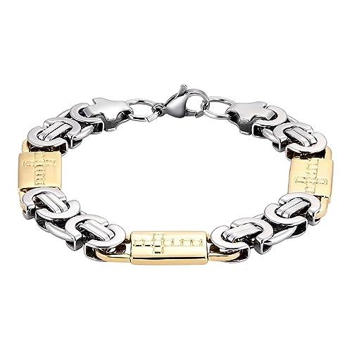 Amazon Com Amdxd Jewelry Stainless Steel Mens Link Bracelets