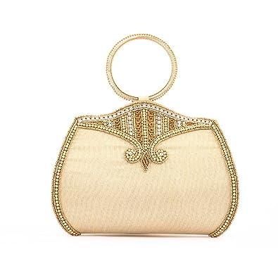 b5aa41237879 Ladybugbag Designer Wristlets Clutch for Women s (Beige