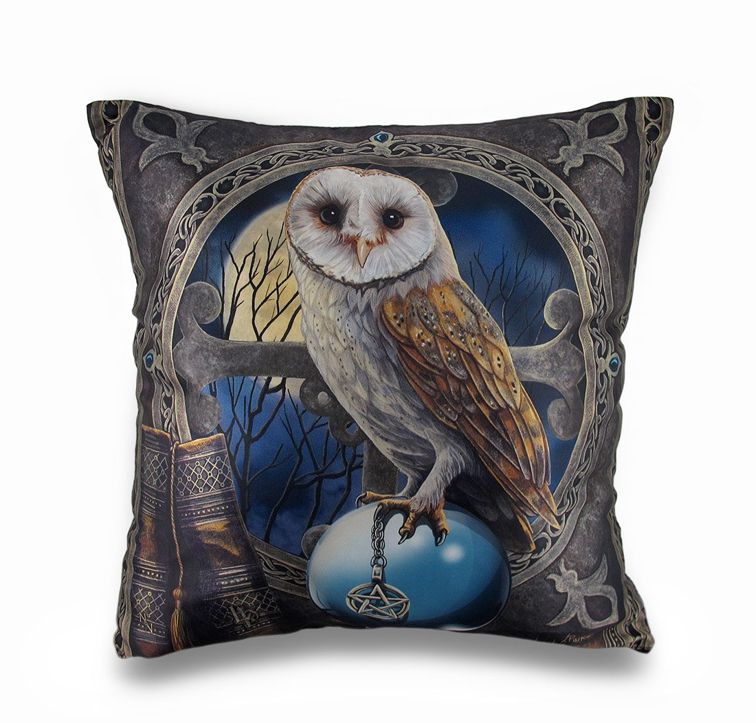 Zeckos Lisa Parker Spell Keeper Fantasy Art Decorative Throw Pillow 16in.