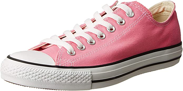 Converse Chucks (Chuck Taylor) All Star Ox Low Tops Unisex Damen Herren Rosa