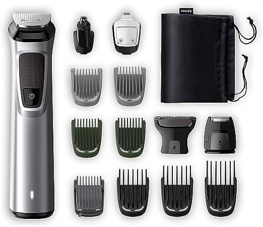 Philips Barbero MG7720/15 Recortador de barba y pelo, óptima ...