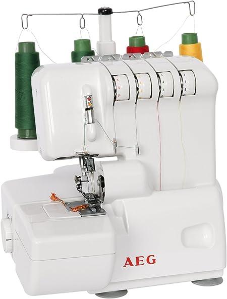 AEG Overlock 760 - Máquina de Coser, 230V, Velocidad máxima de ...