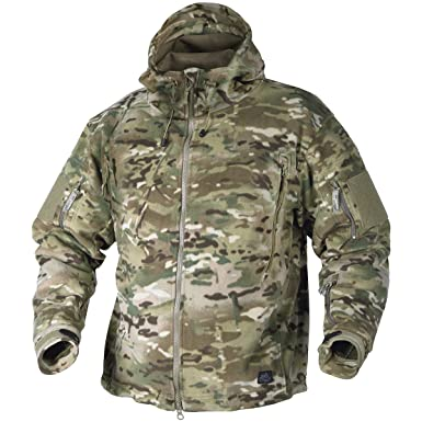 Helikon Patriot Fleece Jacket Camogrom