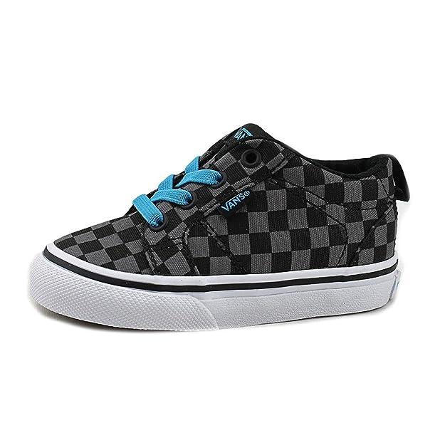 11213c86088c8e Vans Bishop Slip-On (SP16) Check Black Black (12.5)  Amazon.co.uk  Shoes    Bags