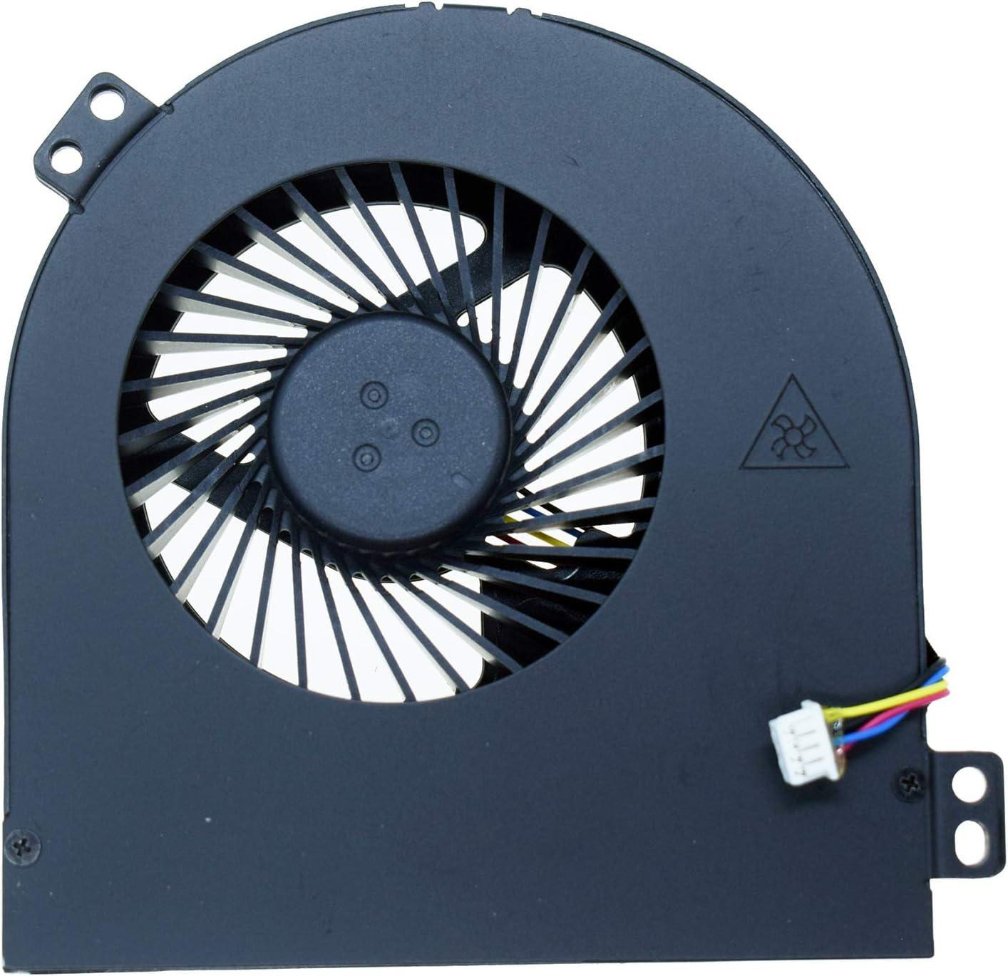 DREZUR GPU Cooling Fan Parts Compatible for Dell Precision M4700 M4800 Series Laptop Cooler 01G40N 1G40N 0CMH49 CMH49 DC28000B3VL DC28000B2S0