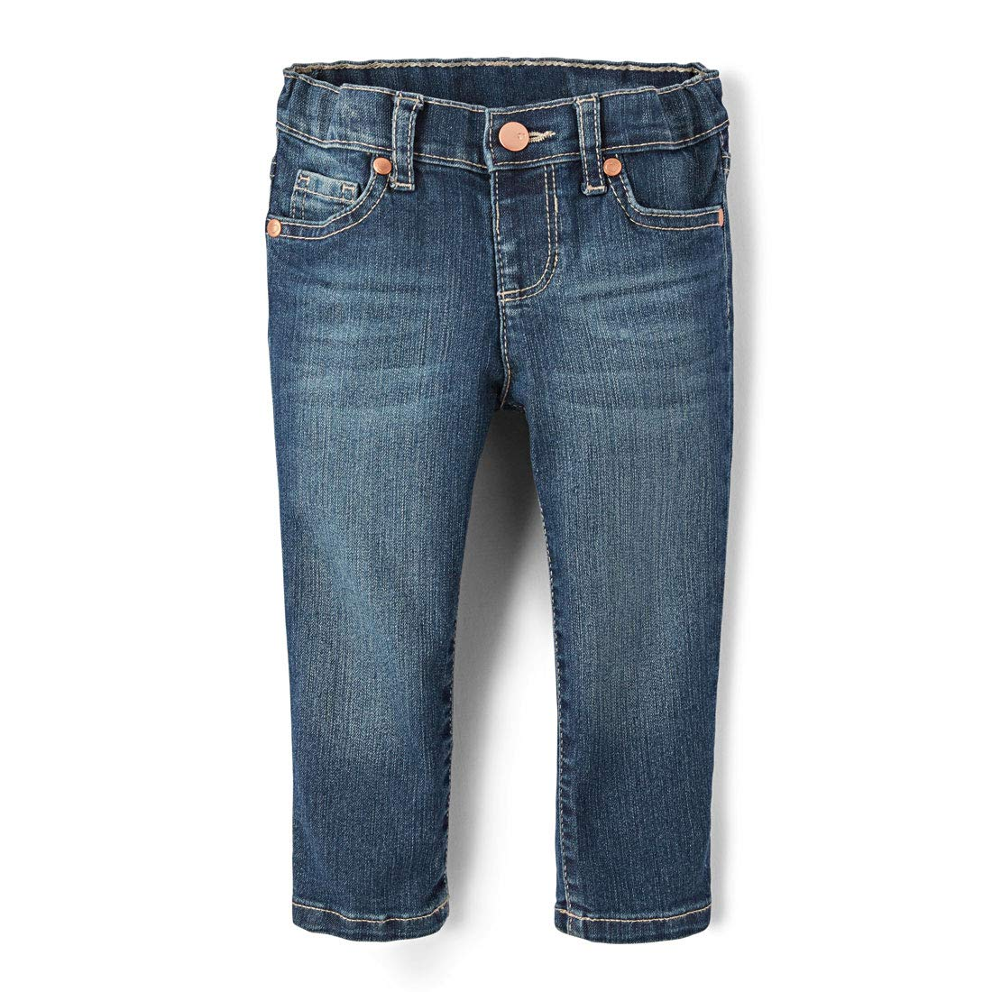 The Children's Place Girls Baby Skinny Jeans, Blues WASH 3538, 4T by The Children's Place