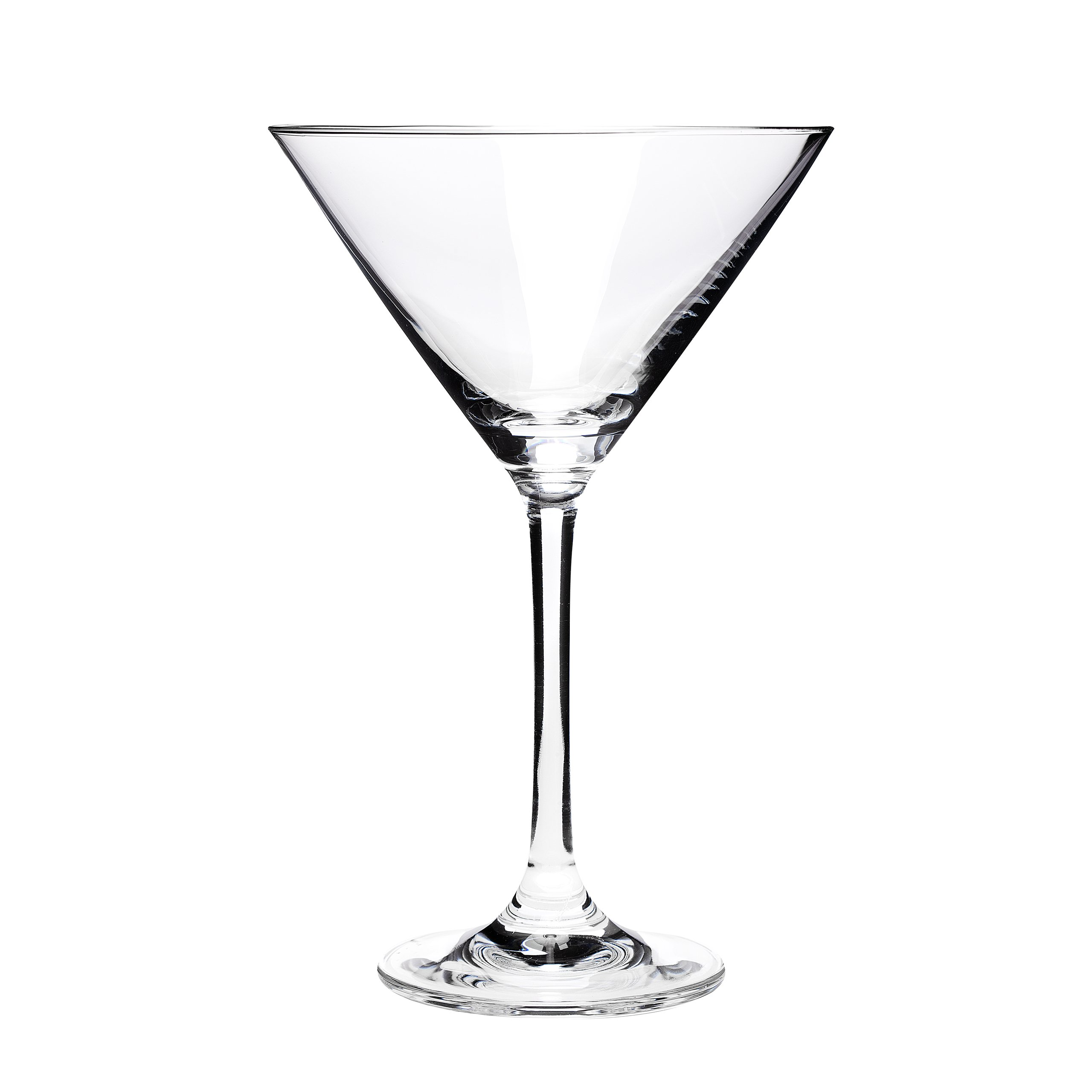Oenophilia Perfect Stemware Martini Glass, Clear, Set of 6