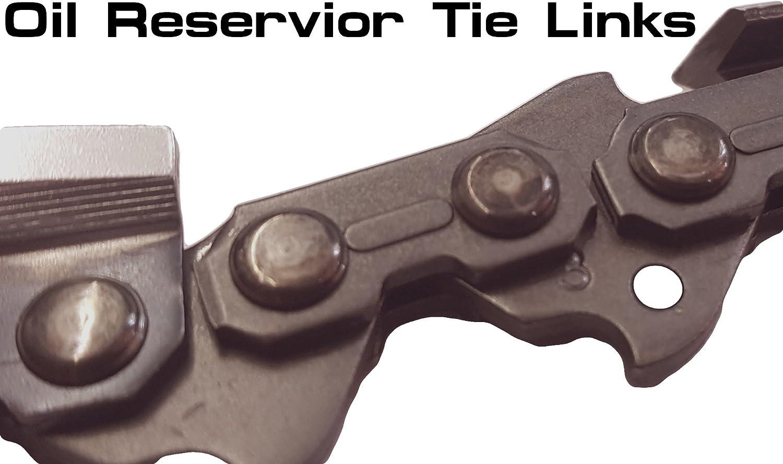 V/éritable Rotatech tron/çonneuse Cha/îne de tron/çonneuse Compatible Stihl 017/35,6/cm Barre