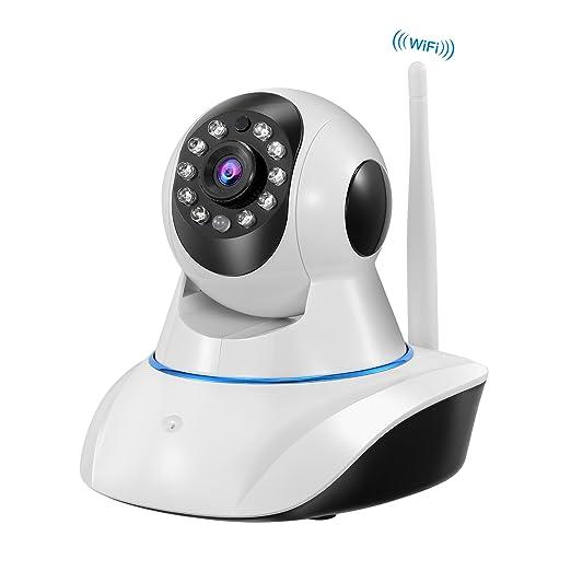 1 opinioni per NEXGADGET Telecamera IP HD Di Sorveglianza Wi-Fi Sicurezza Interna Rilevamento
