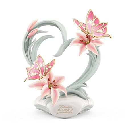 1d5c549463b 'Beauty Of Your Dreams' Musical Butterfly Figurine Heirloom With 22-Carat  Gold-