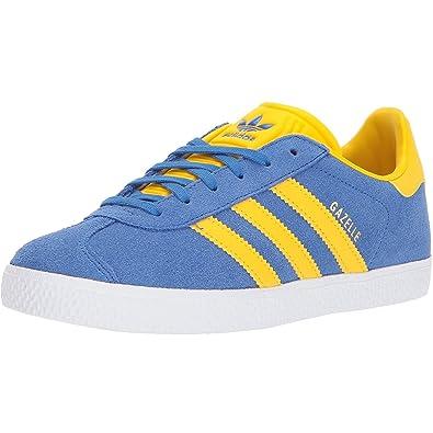 Adidas Gazelle, Zapatillas de Deporte para Hombre, Azul (Azul/Azul/Dormet), 37.5 EU