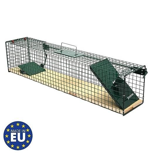 Moorland Safe 6042 - Trampa para Animales Vivos - 80x15x19 cm ...