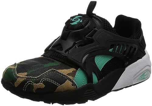 Puma Disc Blaze Night Jungle BlackElectric Green: