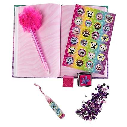 062acf70786 Amazon.com  Ty Beanie Boos Sequin Diary Gift Set  Toys   Games