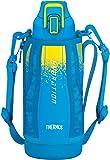 サーモス 水筒 真空断熱スポーツボトル ブルーカモフラージュ 0.8L FHT-800F BL-C