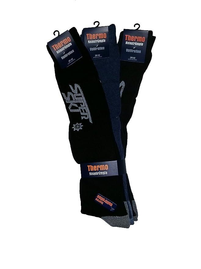 9 Pares de Super térmicos de esquí de calcetines, completo Rizo, Super Warm & de larga duración (43 - 46): Amazon.es: Ropa y accesorios