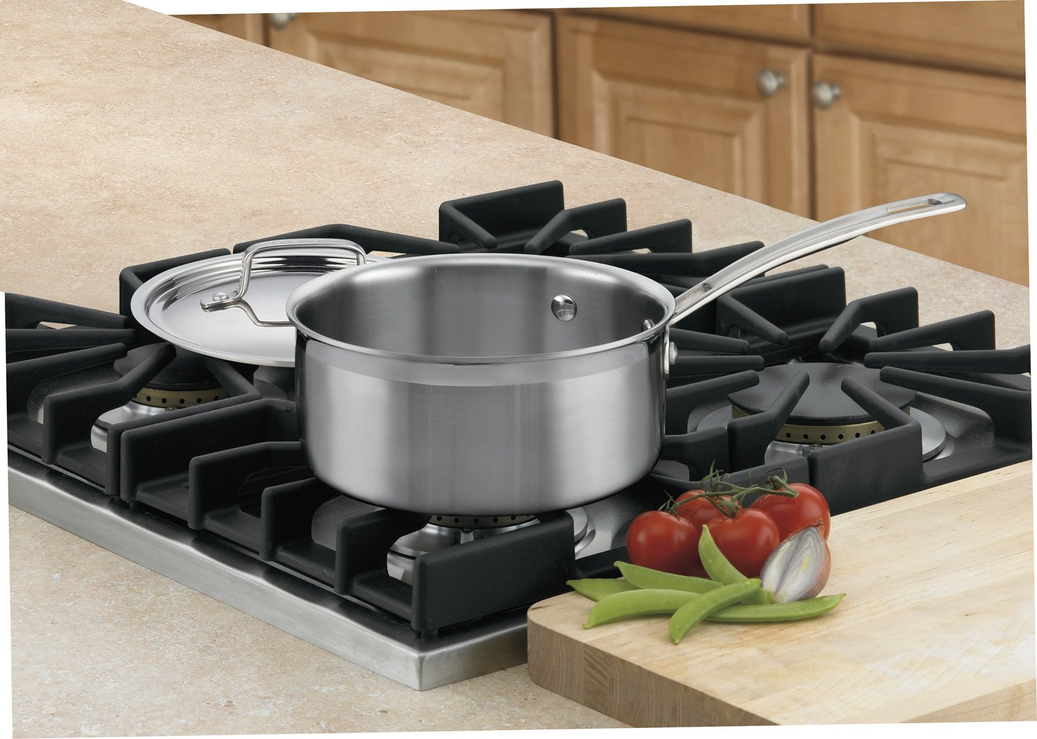 Cuisinart MCP19-18N MultiClad Pro Stainless Steel 2-Quart Saucepan with Cover by Cuisinart (Image #2)