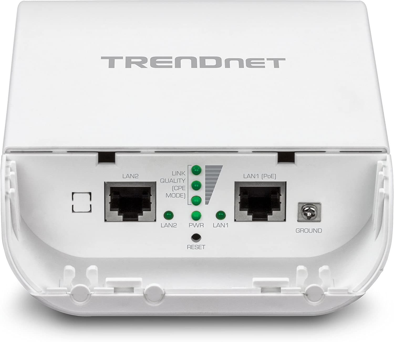 TRENDnet TEW-740APBO - Punto de Acceso PoE para Exterior (300 Mbit/s, WPA2, HTTPS) Blanco